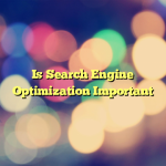 Is Search Engine Optimization Important